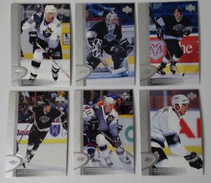 1996-97-Upper-Deck-UD-Series-2-Los-Angeles-Kings-Team-Set-of-6-Hockey-Cards