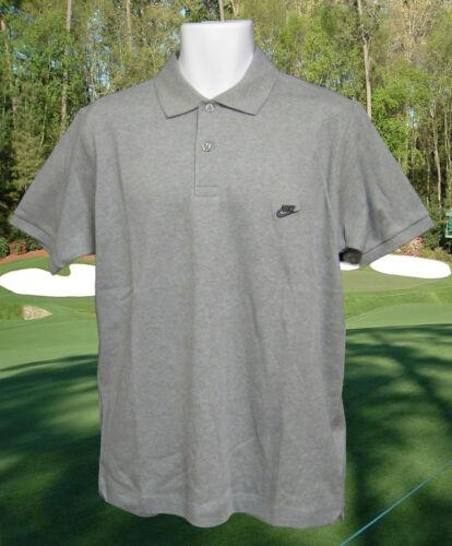 in vintage grigio cotone Polo L spazzolato Nike w78RET