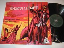 LP/ANDREA CHENIER/TEBALDI/SOLER/Cetra LPC 50169