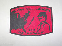 VINTAGE BSA BOY SCOUT PATCH  1989 NATIONAL SCOUT JAMBOREE BUFFALO NY