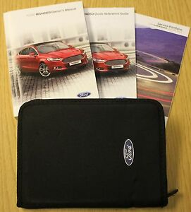 ford mondeo 2014 2016 handbook owners manual audio navi sync service rh ebay com ford sync user manual Vehicle Owner's Manual