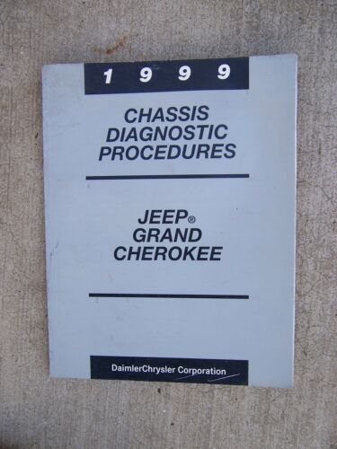 1999 Jeep Grand Cherokee Chassis Mark 20 ABS Diagnostic Procedures Manual U