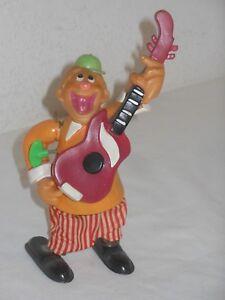 Gitarist Clown 32 Automat FunktionsfÄhig Vintage Tintoy Cragstan Japan