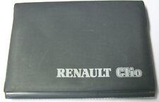 Rumänische roma Betriebsanleitung Renault Clio Manual de utilizare Ausgabe 2001