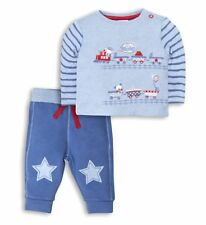 Baby Boys Top Trousers Joggers 2Pc Set NB Designer Mini Club BNWT