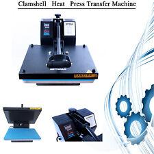 Diy 15x15 Digital Clamshell T Shirt Heat Press Machine Sublimation Transfer