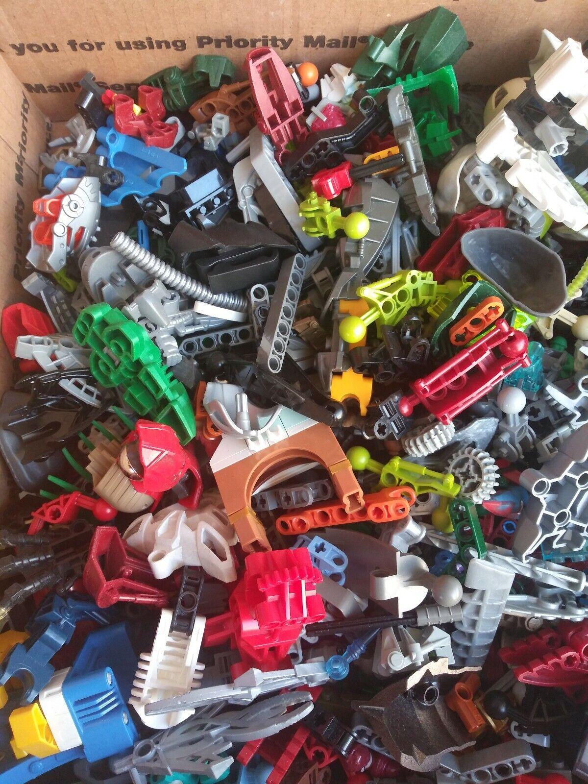 Lego  Bionicle Lot 15lb  Bulk Lot Mixed Parts Pieces  nuova esclusiva di fascia alta