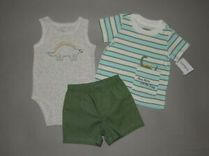 Nwt Baby Boy Clothes 18 Months Carter S Dino 3 Piece Set See Details On Size 192135841402 Ebay
