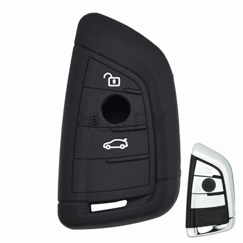 Silicone Key Remote Cover For BMW 1 2 3 Series 13-19 X3 X6 X6 Z4 M5 Fob Case