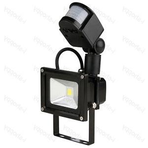 Outdoor 20W LED Flood Light Detector PIR Motion Sensor Security Lamp Waterpro
