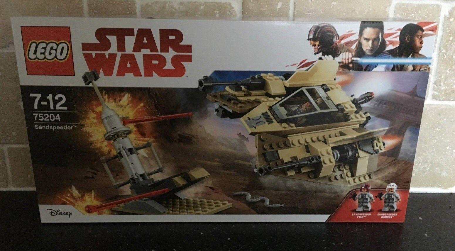 LEGO STAR WARS - 75204 Sandspeeder Brand New In Sealed Box