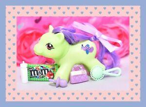 ❤️My Little Pony MLP Vtg G1 Style HQG1C Playful Newborn Baby FLIPPER Custom❤️