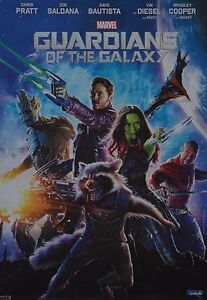 GUARDIANS-OF-THE-GALAXY-A3-Poster-ca-42-x-28-cm-Film-Plakat-Clippings-NEU
