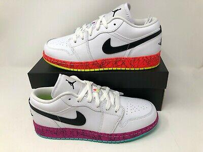 Nike Air Jordan 1 Low White Volt