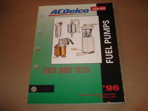 1996 Delco fuel pump catalog