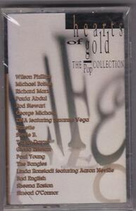 Hearts-of-Gold-The-Pop-Collection-Various-Artists-Cassette-NEW