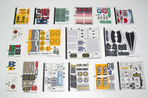 Lego-Planche-Stickers-Autocollants-Marvel-Super-Heroes-Choose-Model-NEW