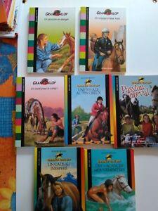 Lot-de-7-livres-Enfant-Jeunesse-Roman-GRAND-GALOP