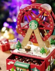 Christmas Ferris Wheel Music Box.Details About Starbucks China Christmas Limited Edition The Ferris Wheel Music Box
