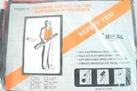 Vintage 80's Ideal Safety Vest