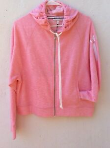 7ca9dcfe7d0d4 Details about NWT Victoria's Secret Women Full Zip Hoodie Light Pink  Pullover