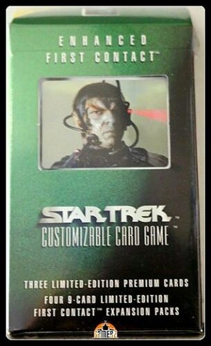 Star Trek Factory Se Tomalak of Borg Enhanced First Contact Expansion Pack