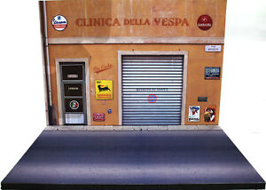 Diorama Présentoir Clinica Della Vespa - 1/32ème - #32-2-b-b-001
