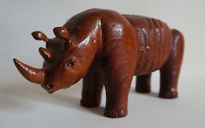 Rhinoceros-Africa-Hippo-Wood-Carved-9-3-8in-Long