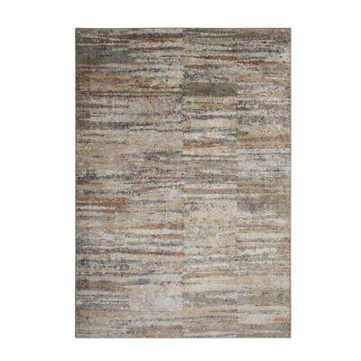 Abacasa Sonoma Cason Ivory Grey Multi Color 5x8 Area Rug