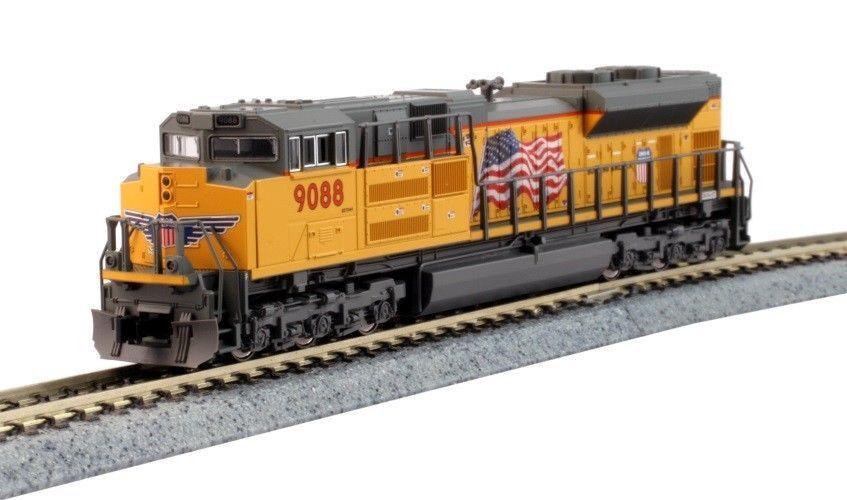 Kato 1768522 N Locomotora SD70ACe Faros Unión Pacific 9088 176-8522 nariz