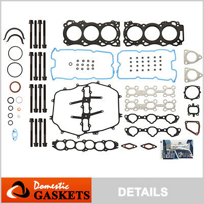 Head Gasket Bolts Set Fit 05-08 Infiniti FX35 G35 M35 3.5L DOHC 24V VQ35DE
