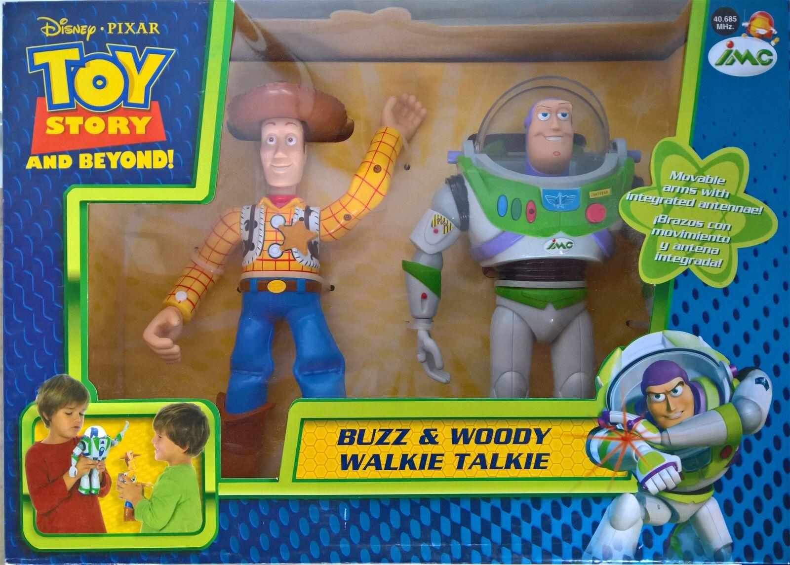 toy story - buzz & woody walkie - talkie zahlen 25 cm