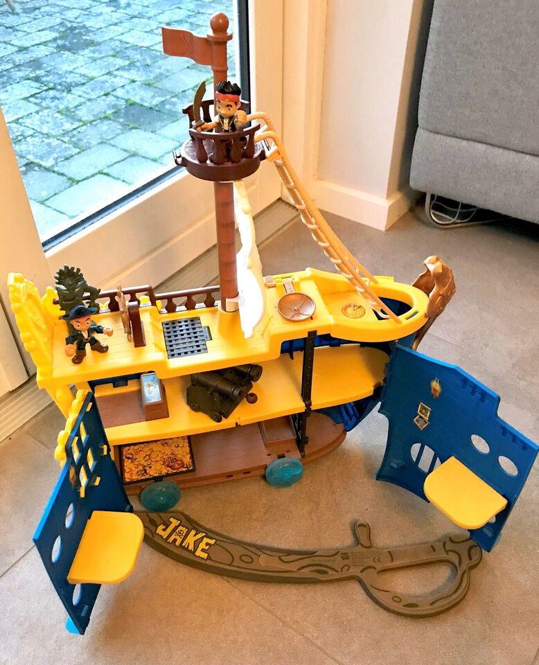 Blandet legetøj, Jake og ønskeøens pirater skib, Jake og