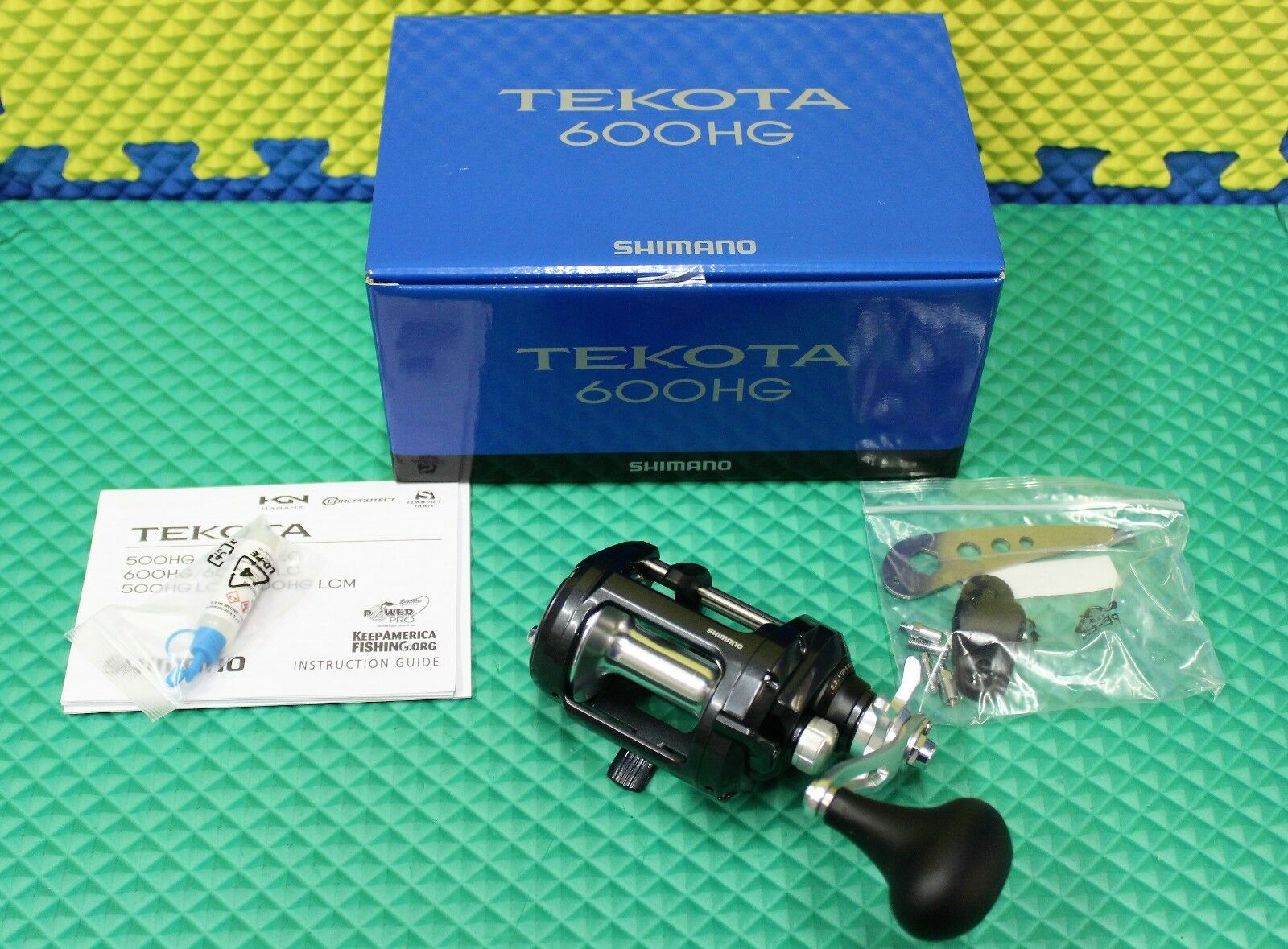 Shimano Tekota Levelwind Trolling Reel NEW FOR 2019  TEK600HGA