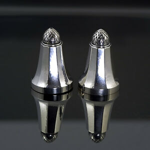 Antique Georg Jensen Sterling Silver 925 Acorn salt shaker #423B