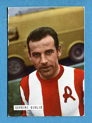 GCG] FOTO CALCIO 1965-66 - Figurina-Sticker n. 223- GIULIO SAVOINI - LR  VICENZA | eBay