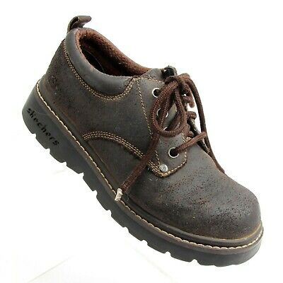 Comfort Shoes Trustful Skechers Lace Up Oxford Shoes Sn2174 Women's Size 7.5 High Safety