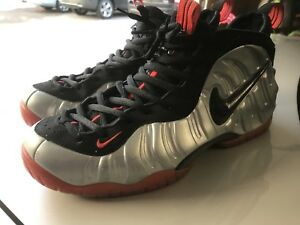 f0641f0ab3df0 Image is loading Nike-Air-Foamposite-Pro-Crimson-12-Silver-Red-