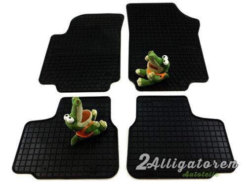 4 x caoutchouc de tapis de sol ☔ pour skoda Citigo depuis 2012