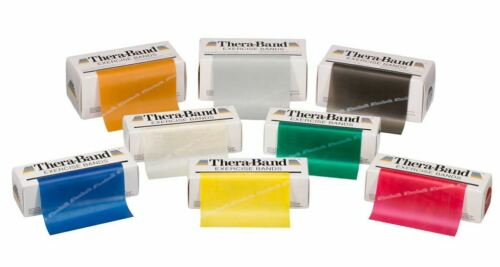 Thera-Band Exercise Resistance Bands 6 Yard Roll Theraband 6yd