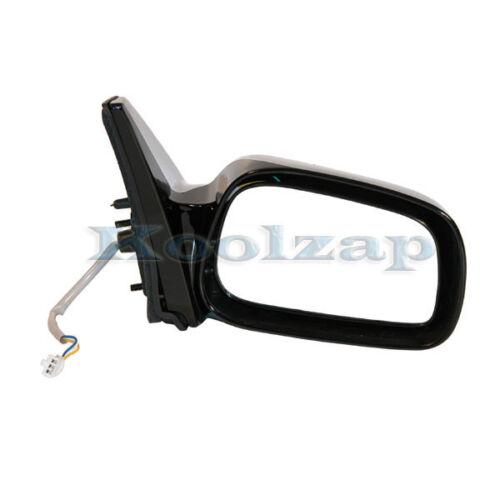 TYC For 03-08 Vibe Matrix Power Black Non-Fold Rear View Mirror Right Passenger