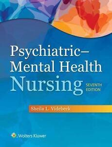 Psychiatric Mental Health Nursing By Sheila L Videbeck 2016