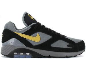 Nike Air Max 180 Sneaker AV7023 001 Leder Grau Fashion