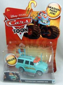 New-Disney-CARS-Toons-Tormentor-039-s-Biggest-Fan-22-Diecast-Vehicle