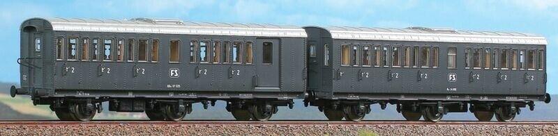 ACME ac55240 2tlg. Wagenset tipo 1931r ardesia delle FS, DC, traccia h0