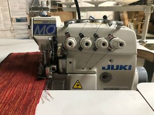 Details about Juki MO-6816S 5-Thread Overlock Machine W/ Tabletop &  110-volt Clutch Motor