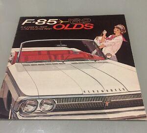 Details about 1962 Oldsmobile F85 Cutlass Sales Brochure MINT