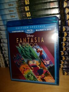 Blu-Ray-Dvd-Disney-Fantasia-2000-Neuf