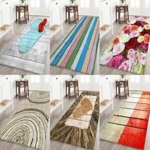 USA-3D-Print-Flannel-Non-slip-Door-Mat-Kitchen-Floor-Bedroom-Mat-Bath-Rug-Carpet