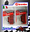 thumbnail 1 - BREMBO SC RACING BRAKE PADS 2 SETS COMPATIBLE FOR HONDA CBR 1000 RR 2008 >